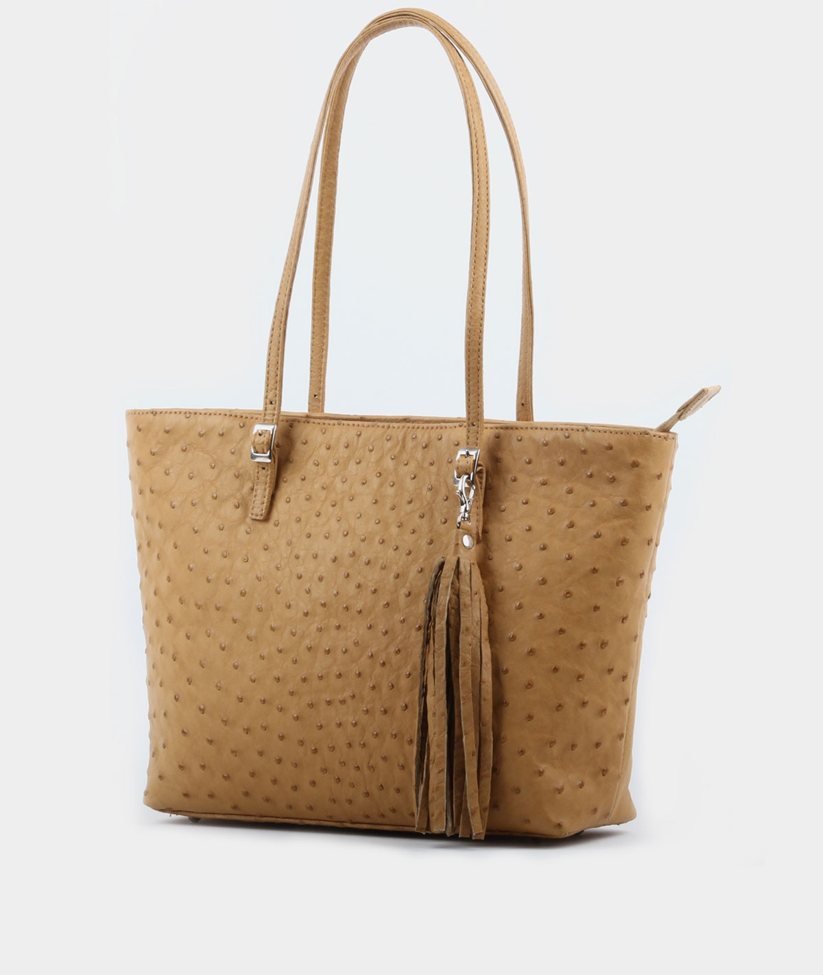TOTE WITH TASSLES