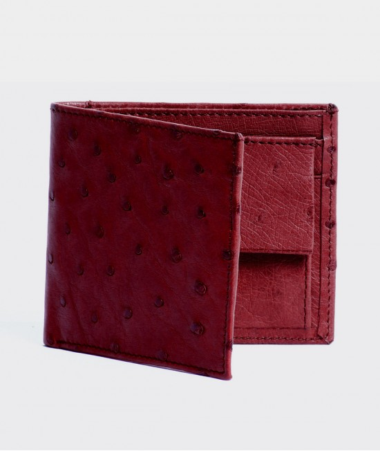 MENS WALLET IN FLAME RED