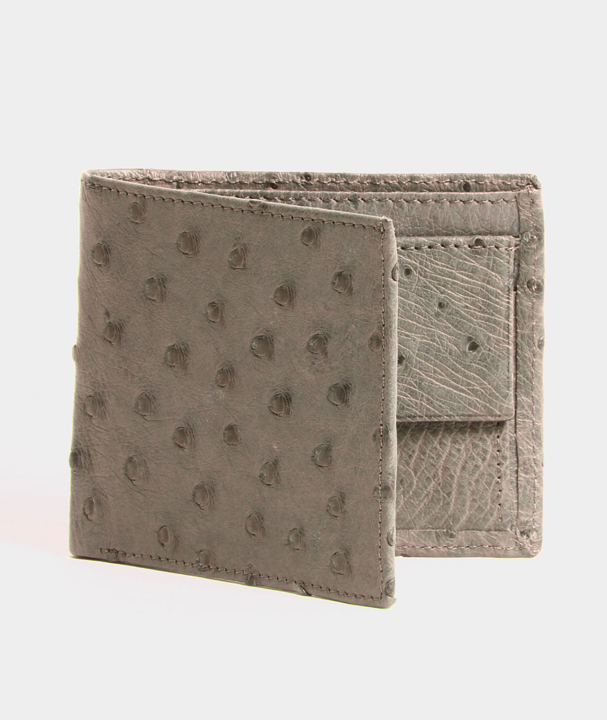 MENS WALLET IN MOUSE BROWN