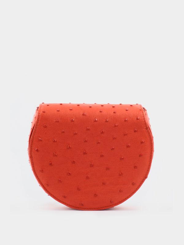 red-halfmoon-ostrich-leather-crossbodey-sling-bag-1